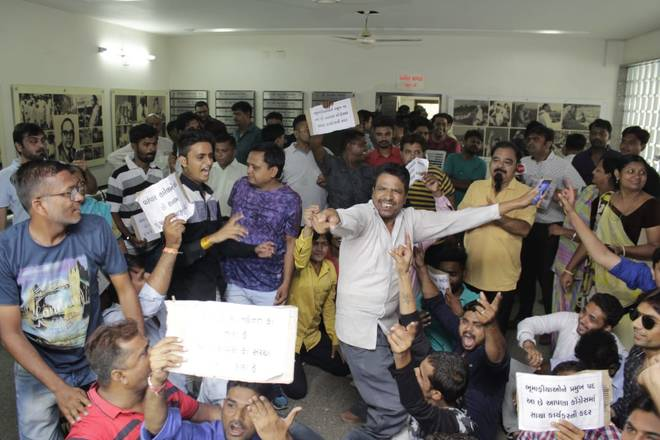 Gujarat Congress workers ransack party office in Ahmedabad as dissent boils over