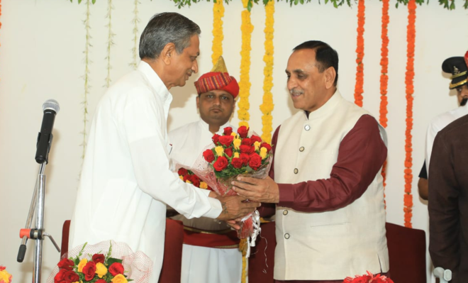 Kunwarji Bavalia Gets Key Gujarat Ministries