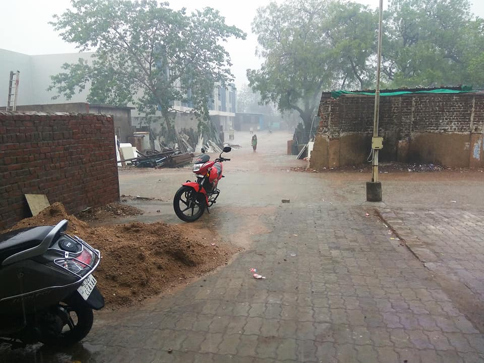 heavy rain in ahmedabad